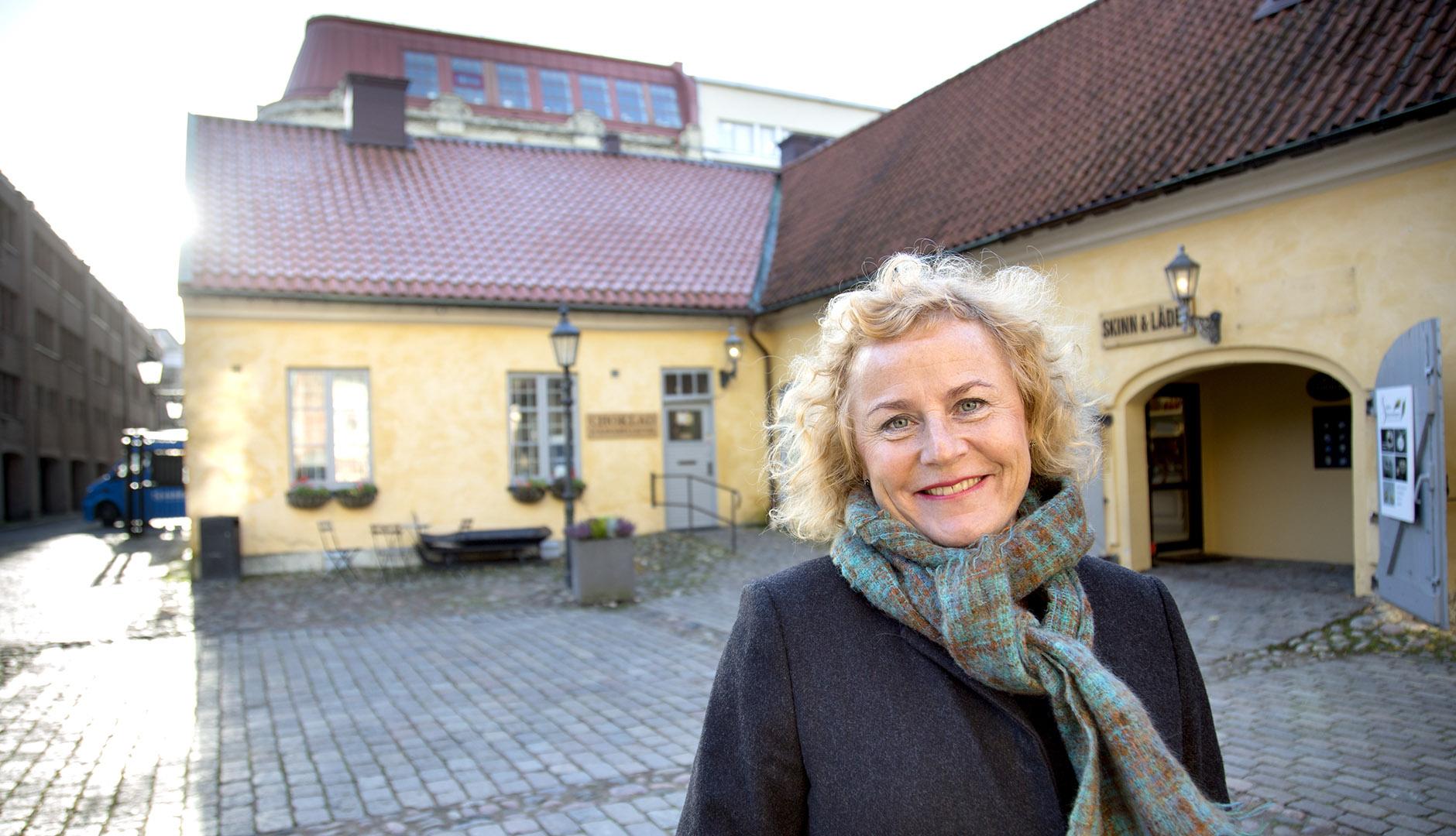Anna-Lena Johansson, ansvarig för BRG:s arbete med kompetensförsörjning i regionen.
