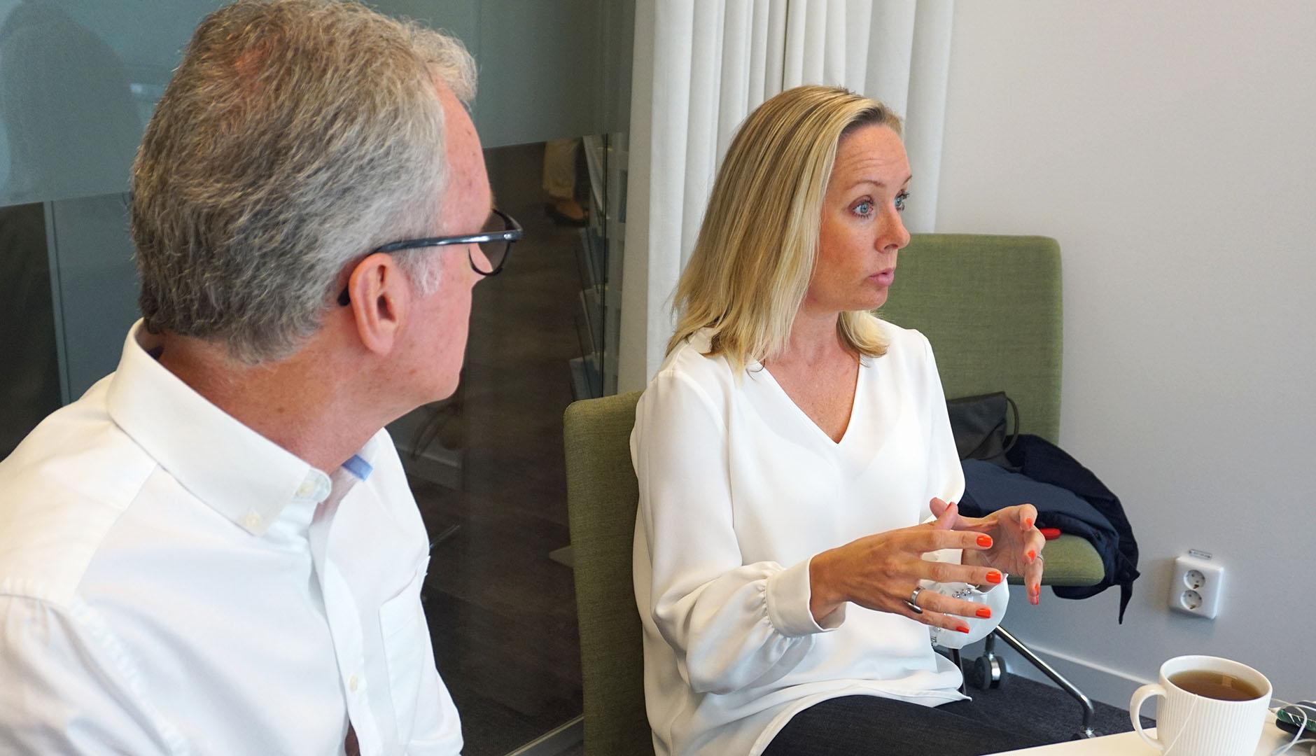 Karin Öberg, företagsrådgivare på Business Region Göteborgs tillväxtprogram Expedition Framåt