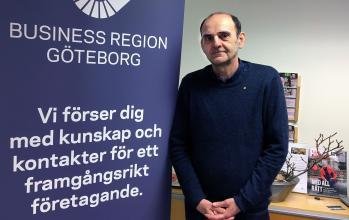 Dragan Sako finns på Business Center i Angered