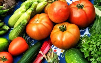 Lokalodlade grönsaker